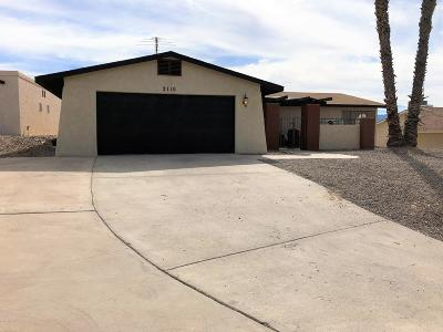 Lake Havasu City Single Family Home For Sale: 2110 Wallapai Dr