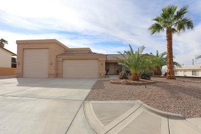 Lake Havasu City Single Family Home For Sale: 2180 Sahara Dr