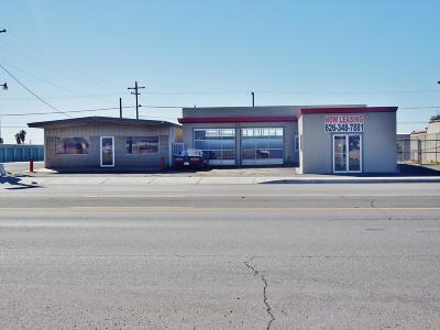 Parker Commercial For Sale: 716 S California Ave