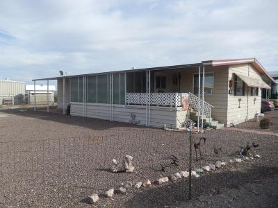 Salome Manufactured Home For Sale: 39879 S.dakota Pl