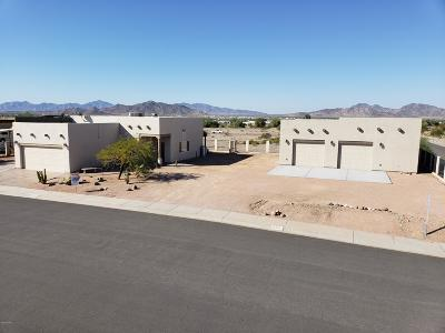 Quartzsite Single Family Home For Sale: 500 Paseo Grande