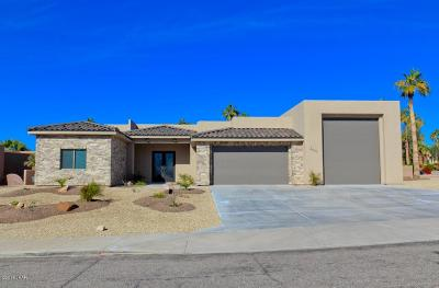 Lake Havasu City Single Family Home For Sale: On Your Level Lot Ln