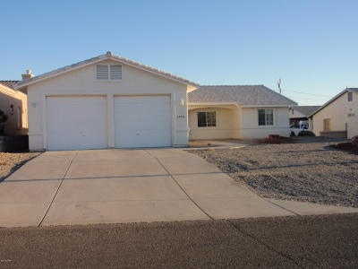 Lake Havasu City Single Family Home For Sale: 3078 Marlin Dr