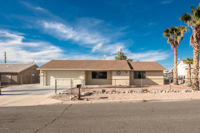 Lake Havasu City Single Family Home For Sale: 3041 Crater Drive Dr