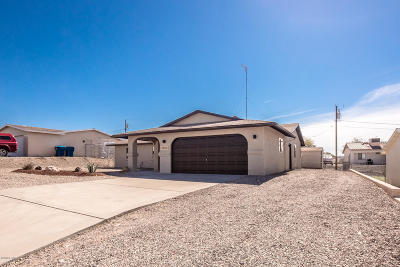 Lake Havasu City Single Family Home For Sale: 3850 Churchill Dr