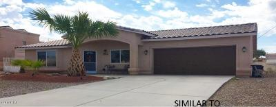 Lake Havasu City Single Family Home For Sale: 1050 On Your Level