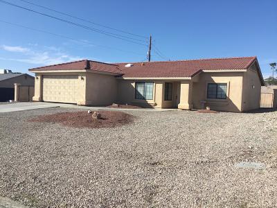 Single Family Home For Sale: 3317 Chemehuevi Blvd