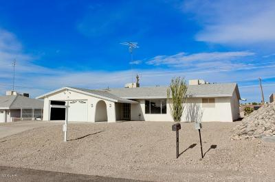 Lake Havasu City Single Family Home For Sale: 3761 Comet Dr