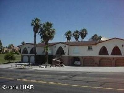 Lake Havasu City Condo/Townhouse For Sale: 654 S Acoma Blvd #5
