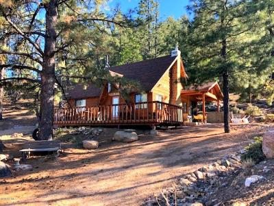 Kingman Single Family Home For Sale: 6721 E Flag Mine Rd