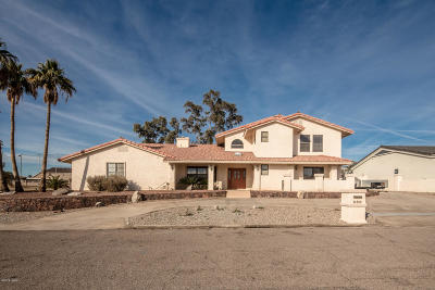 Lake Havasu City Single Family Home For Sale: 550 Player Ln