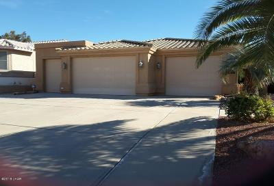 Lake Havasu City Single Family Home For Sale: 2960 Corral Cir