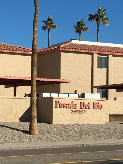 Lake Havasu City Condo/Townhouse For Sale: 1957 Mesquite Ave #37