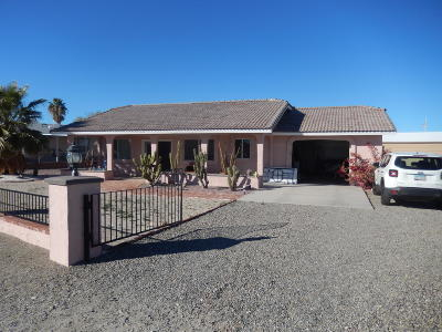 Salome Single Family Home For Sale: 40470 S.dakota Pl Pl