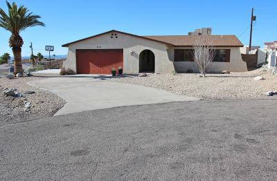 Lake Havasu City Single Family Home For Sale: 3125 Valley Ln