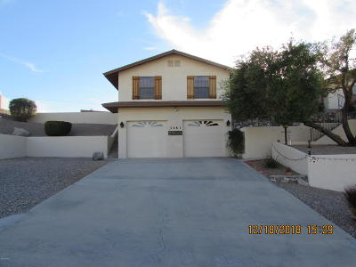 Lake Havasu City Single Family Home For Sale: 3361 Pocahontas Dr