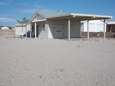 Quartzsite Single Family Home For Sale: 49674 Rainbow Ave Ave