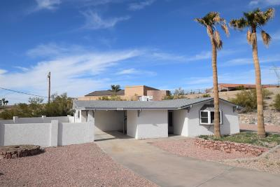 Lake Havasu City AZ Single Family Home For Sale: $255,000