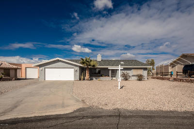 Lake Havasu City Single Family Home For Sale: 3321 Yaqui Dr