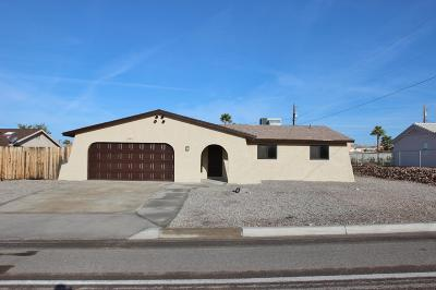 Lake Havasu City Single Family Home For Sale: 2961 N El Dorado Ave
