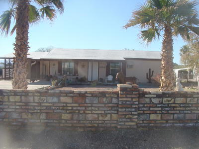 Quartzsite Single Family Home For Sale: 835 W Mountain St