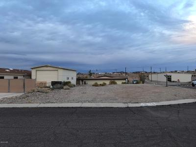 Lake Havasu Mobile Home Est Residential Lots & Land For Sale: 120-17-628 William Dr Dr