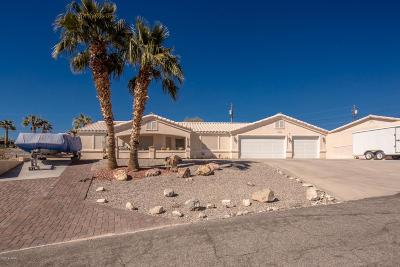 Lake Havasu City Single Family Home For Sale: 3741 Hiawatha Dr