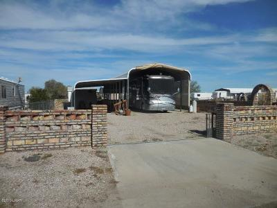 La Paz County Residential Lots & Land For Sale: 598 Bonanza Dr.