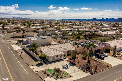 Lake Havasu City Single Family Home For Sale: 3396 Jamaica Blvd S