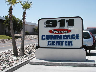 Commercial For Sale: 911 Lake Havasu Ave #604