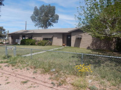 Salome Single Family Home For Sale: 38215 Navajo St