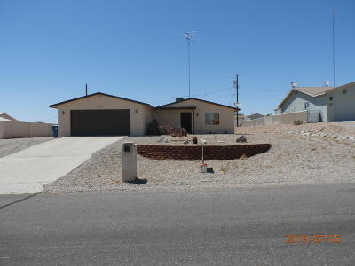 Lake Havasu City Single Family Home For Sale: 3455 Hassayampa Dr