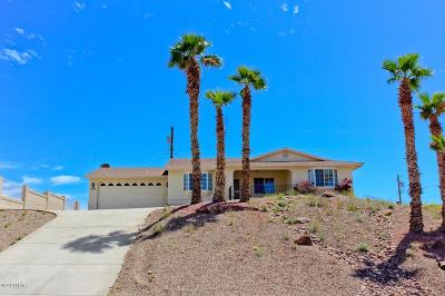 Lake Havasu City Single Family Home For Sale: 3680 Stanford Dr