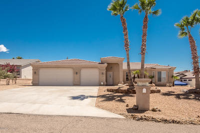 Lake Havasu City Single Family Home For Sale: 1890 Nugget Dr