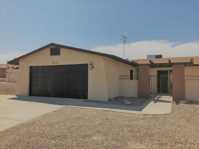 Single Family Home For Sale: 2110 Wallapai Dr