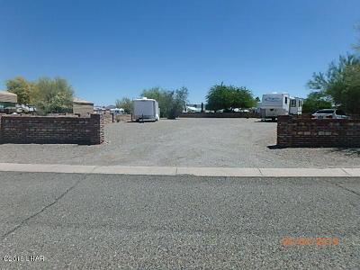 Quartzsite Residential Lots & Land For Sale: 49681 Sapphire Ave