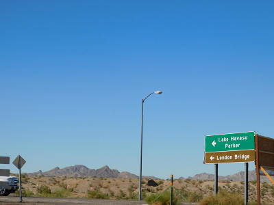 Lake Havasu City Residential Lots & Land For Sale: End Of 95 I-40 West