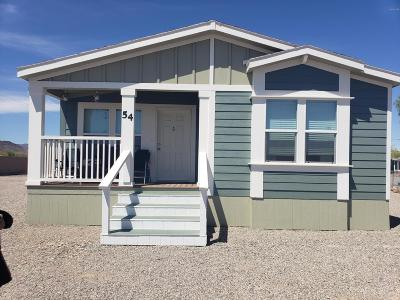 La Paz County Manufactured Home For Sale: 54 N Washington Ave