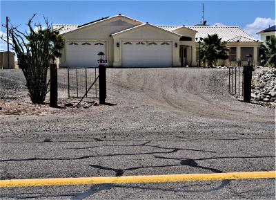 Lake Havasu City Single Family Home For Sale: 7837 Sky View Dr