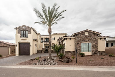 Lake Havasu City AZ Single Family Home For Sale: $1,185,000