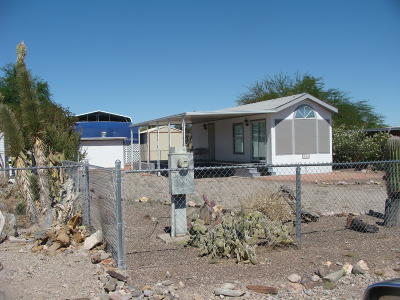 Quartzsite Single Family Home For Sale: 866 Cienega Ln