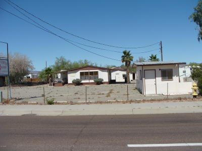 Quartzsite Commercial For Sale: 394 N Central Blvd