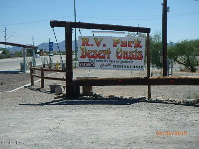 Quartzsite Commercial For Sale: 709 W Main St