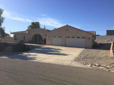 Lake Havasu City Single Family Home For Sale: 3649 Mission Dr S