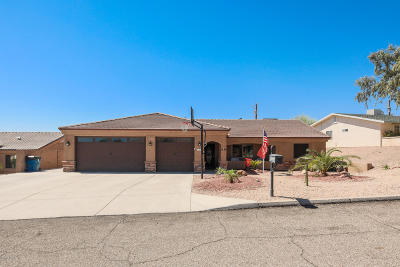 Lake Havasu City Single Family Home For Sale: 3437 Newport Dr
