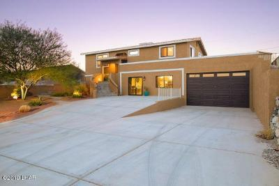 Lake Havasu City Single Family Home For Sale: 3535 Sunny Point Dr