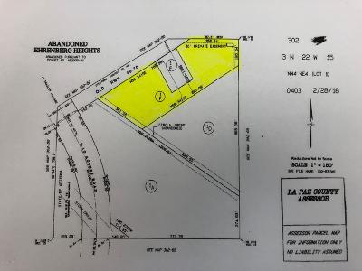 Ehrenberg Residential Lots & Land For Sale: Ehrenberg Rd