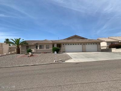 Lake Havasu City Single Family Home For Sale: 2281 Clarke Dr