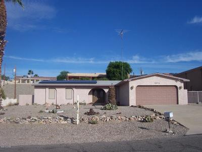 Lake Havasu City Single Family Home For Sale: 3873 Sloop Dr