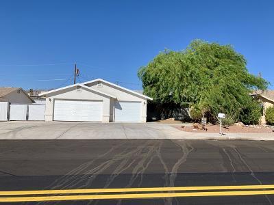 Lake Havasu City Single Family Home For Sale: 3567 Kearsage Dr
